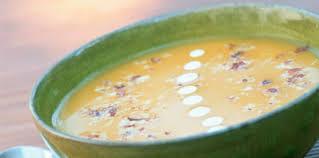 cuisine potiron soupe de potiron aux noisettes facile et pas cher recette sur