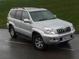2003 toyota landcruiser lc4 3 0 d4d 4x4 auto leather sunroof