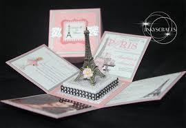 eiffel tower invitations sweet 16 exploding box invitation sle jinkys crafts