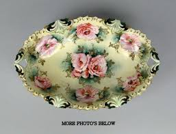 rs prussia bowl roses 1224 best antique vintage plates bowls and chargers images on