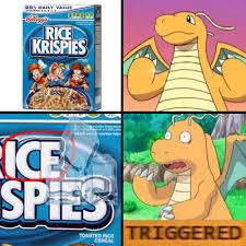 Dragonite Meme - triggered dragonite hates ice pok礬mon amino