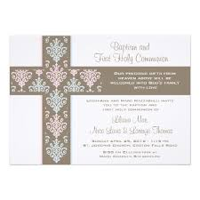 communion invitation christening and communion invitation card