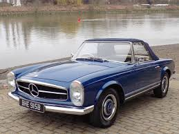 mercedes classic convertible classic chrome mercedes benz 230 sl u0027pagoda u0027 sports 1964 b blue