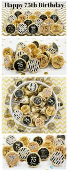 Favors For 75th Birthday by Celebrate This Special Birthday Milestone With These Gold And