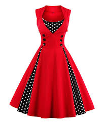 retro cocktail party killreal women u0027s polka dot retro vintage style cocktail party