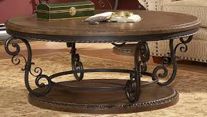 round wood and metal end table round wood and metal coffee table 10