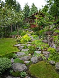 landscape ideas for hilly backyards landscaping ideas steep