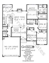 house plans one phillips house plan house plans by garrell associates inc