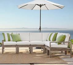 Build Your Own Patio Table Build Your Own Indio Sectional Components Pottery Barn
