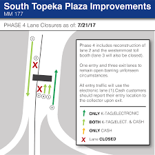 Topeka Zip Code Map by Construction Updates Travel Planner Kansas Turnpike Authority