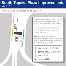Wichita Kansas Zip Code Map by Construction Updates Travel Planner Kansas Turnpike Authority