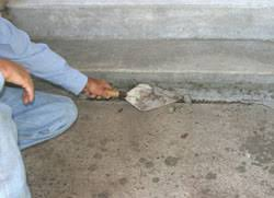 How To Clean A Concrete Patio by Patching U0026 Repairing Concrete Extreme How To