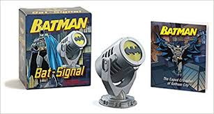 Batman Desk Accessories Batman Bat Signal Miniature Editions 0000762445262