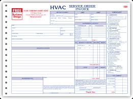 Air Conditioning Invoice Template by Hvac Invoice Template Free To Do List