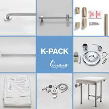 Shower Water Dam Stopper Kits Handicap Shower Accessories Acessinc Com