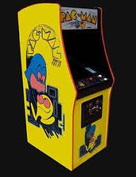 Ms Pacman Cabinet Pacman Ms Pacman Arcade Video Game Sharp Ebay