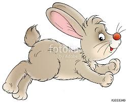 hopping bunny rabbit clipart hop pencil and in color rabbit clipart hop