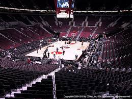 moda center section 207 seat views seatgeek
