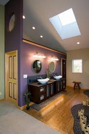 Oriental Bathroom Decor by Interesting Purple And White Bathroom Theme Colors With Vintage