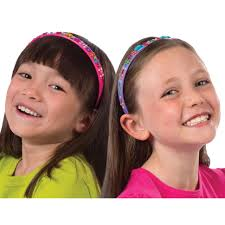 sparkly headbands alex toys pops craft 2 sparkly headbands alexbrands