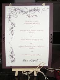 prã sentation menu mariage aujourd hui ma robe de mariee est partie page 18 mariage
