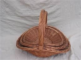 wholesale wicker basket made in china 470416