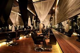 Hair Salon Interior Design by Love The Idea Of Using Curtains For Privacy Between Chairs