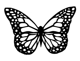 5 8 8 3 butterfly stencil and template design 1 a5