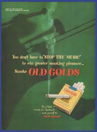 printable area old os vintage 1949 old gold gold cigarette tobacco jazz music rare print