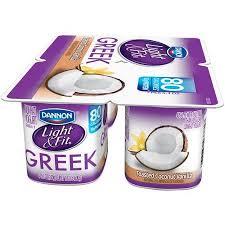 light and fit vanilla yogurt dannon light and fit greek yogurt coconut vanilla iron blog