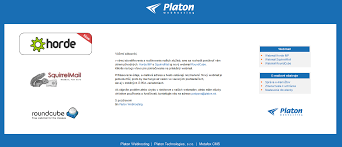 platon webhosting how to use horde webmail