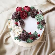 Christmas Cake Decorations Flowers by Best 25 December Flower Ideas On Pinterest Birth Month Birth