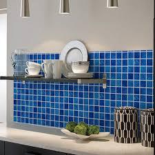 vinyl plastic self adhesive wallpaper bathroom mosaic tile sticker