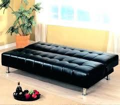 canap lit cuir noir canape lit cuir noir canapac convertible cuir 2 places alacgant