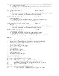 resume sle of accounting clerk test speed typing skills on resume