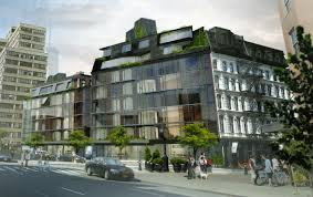 residents warily eye proposed glass building as their neighbor