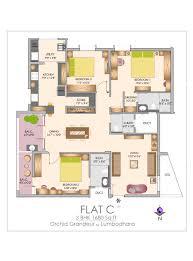 Grandeur 8 Floor Plan by Orchid Grandeur Lumbodhara Promoters At Saibaba Colony Coimbatore