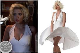Marilyn Monroe Costume Halloween Shop Tv Pretty Liars Season 3 Episode 13 Hanna U0027s