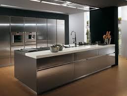 cuisines contemporaines haut de gamme cuisine inox design generalfly