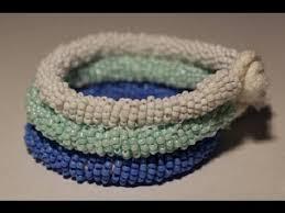 bracelet beaded diy images Diy tory burch inspired beaded bracelet jpg