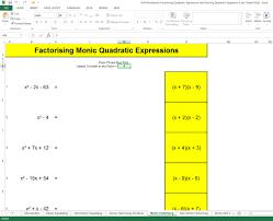 how to factorise quadratic expressions and solve quadratic