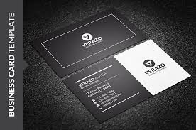 Business Card Design For It Professional Clean Black U0026 White Business Card Business Card Templates
