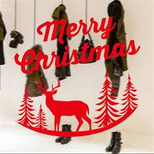 online shop merry christmas deer household room wall sticker mural