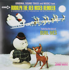 burl ives johnny marks rudolph red nosed reindeer vinyl lp