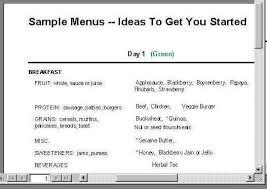 breakfast menu for diabetics whats left to eat charts menus comments