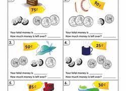 2nd grade money worksheets u0026 free printables education com