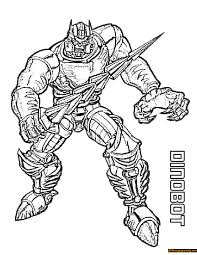 transformers dinobot coloring page free coloring pages online