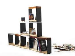 Sectional Bookcase Link System Double Sided Bookcase By Zalf