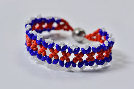 beaded woven bracelet images Free instructions on how to make a blue and red woven superduo 2 jpg
