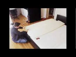 ikea malm bed time lapse assembly youtube